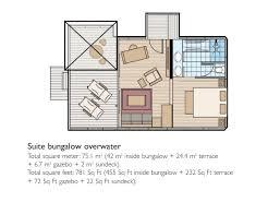 Gazebo Floor Plans Overwater Bungalows