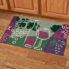 Vineyard Kitchen Rugs Kitchen Rugs With Grapes Roselawnlutheran