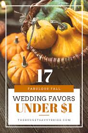 fall wedding favors 17 fall wedding favors 1 the budget savvy