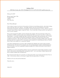 Cover Letter Sales by 7 Experience Letter Sales And Marketing Financial Statement Form