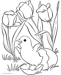 easter coloring pages kid 007
