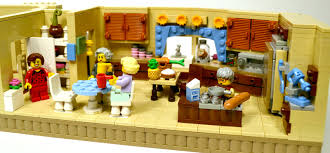 Golden Girls Floor Plan Lego Ideas The Golden Girls Living Room And Kitchen Modular Set