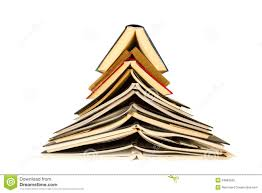 Christmas Tree Books by Tree Of Books Stock Photo Image 34882560
