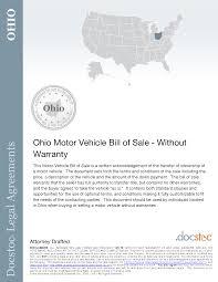 Texas Motor Vehicle Bill Of Sale Pdf by Best Photos Of Car Bill Of Sale Ohio Ohio Bill Of Sale Template