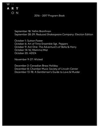 Vosk Because God Has Burning Bushes Everywhere Wharton Center Program Book 2016 2017 Season By Wharton Center Issuu