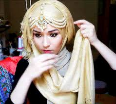 tutorial hijab nabiilabee hijab tutorial for eid by nabiilabee wow i love this 3 thank you