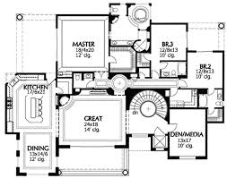 home plans with elevators hacienda for sloping lot with elevator 16335md architectural