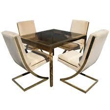 milo baughman dining table milo baughman inspired dining room table cuckoo4design with regard