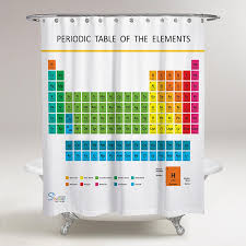 amazon com amazing shower curtains updated 2017 periodic table