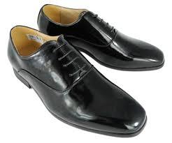 Wedding Shoes Size 9 Mens Formal Dinner Suit Dress Wedding Shoes Black Patent Size 6 7