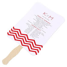 fan program diy scroll fan wedding program kit target
