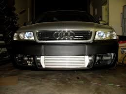 audi a4 turbo upgrade a4 b5 competition series front mount intercooler fmic kit