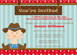western theme baby shower invitation template zone romande