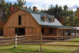Gambrel Roof Barn Barns And Buildings Quality Barns And Buildings Horse Barns