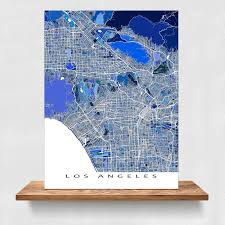 Los Angeles County Zoning Map by Los Angeles California La Fast Facts Cities Map In California Map