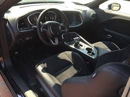hellcat challenger 2017 interior pic request non laguna black leather suede interior srt hellcat