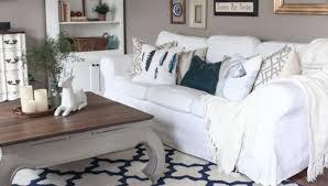Slipcover Sofa Pottery Barn by Sofa White Slipcovers For Sofa Delightful White Slipcovered Sofa