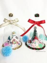 snowman snow globe ornaments filled ornaments clear ornaments