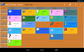 Study Schedule Template Excel Family Timetable Android Apps On Play
