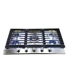 Outdoor Gas Cooktops 36 In Gas Cooktops Cooktops The Home Depot