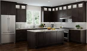 espresso kitchen cabinets with white countertops cnc concord espresso kitchen cabinets premium durability