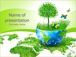 beautiful green nature powerpoint template u0026 backgrounds id