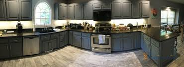 sherwin williams grey kitchen cabinet paint kitchen cabinets painted serious gray in millers creek
