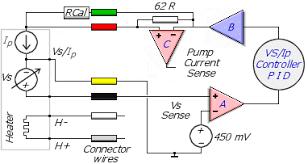 oxygen sensor wiring diagram u0026