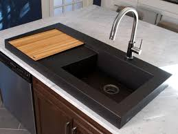 Black Kitchens Are The New White HGTVs Decorating  Design Blog - Black granite kitchen sinks