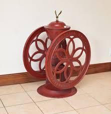 Enterprise Coffee Grinder Antique Red Painted Cast Iron Enterprise No 12 Commercial Coffee