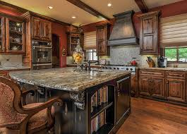 shaped kitchen island made of cedar tree designs pinterest rustic kitchen cabinets ultimate design guide designing idea