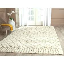 Wool Area Rugs 4x6 Wool Area Rugs 4 6 X Beige Silky Shag Rug Square Solid Carpet