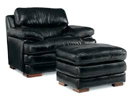 Black Leather Recliner Leather Recliner Chair And Footstool Restwell Napoli Black Leather