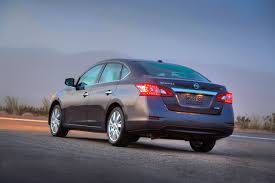 nissan sentra blue 2015 2013 nissan sentra debuts with 40 mpg and crosshairs on corolla civic