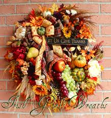 thanksgiving cornacopia irish u0027s wreaths where the difference is in the details