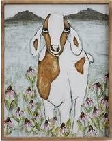 Goat Decor Incredible Deal On Creative Co Op Da7341 Gallery Gathered Joy Wall