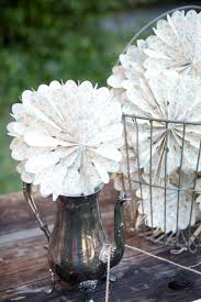 wedding paper fans rustic california orchard wedding by megan clouse photography