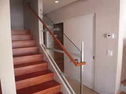 Glass Stair Handrail Glass Stair Railing Banister Elegant Glass Stair Railing