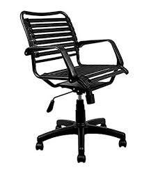 black friday bungee chair amazon com laura davidson bungee task chair black kitchen u0026 dining