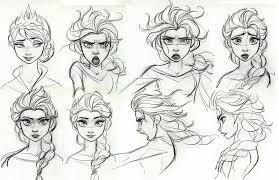 frozen jin kim draw character design