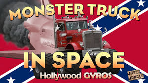 monster truck videos with music joe and the jungle monster truck in space country music parody