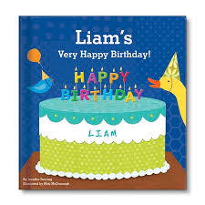 happy birthday book my happy birthday personalized board book for boys