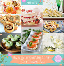 simple mother u0027s day tea party food easy tea party menu ideas