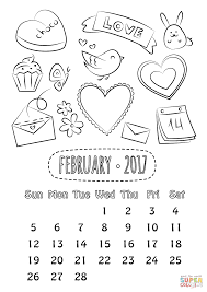 february coloring pages february coloring page coloringcrewcom