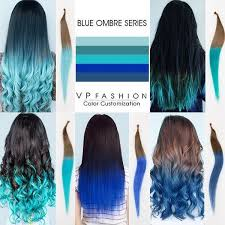 vp extensions top 5 black brown hair extensions with blue tips on vpfashion