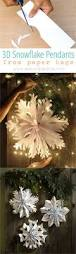 giant snowflake pendants from paper bags snowflakes activities