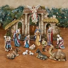 Lighted Outdoor Christmas Nativity Scene by Holiday Home Decor Touch Of Class
