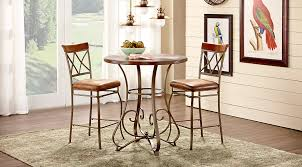wood and metal dining table sets affordable metal dining room sets rooms to go furniture