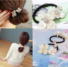 new korean hair accessories rhinestone tiara hair rope