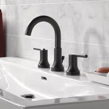 Black Bathroom Sink Faucets You Ll Love Wayfair Bathroom Fixtures Discount